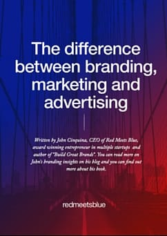 The difference between branding, marketing and advertising